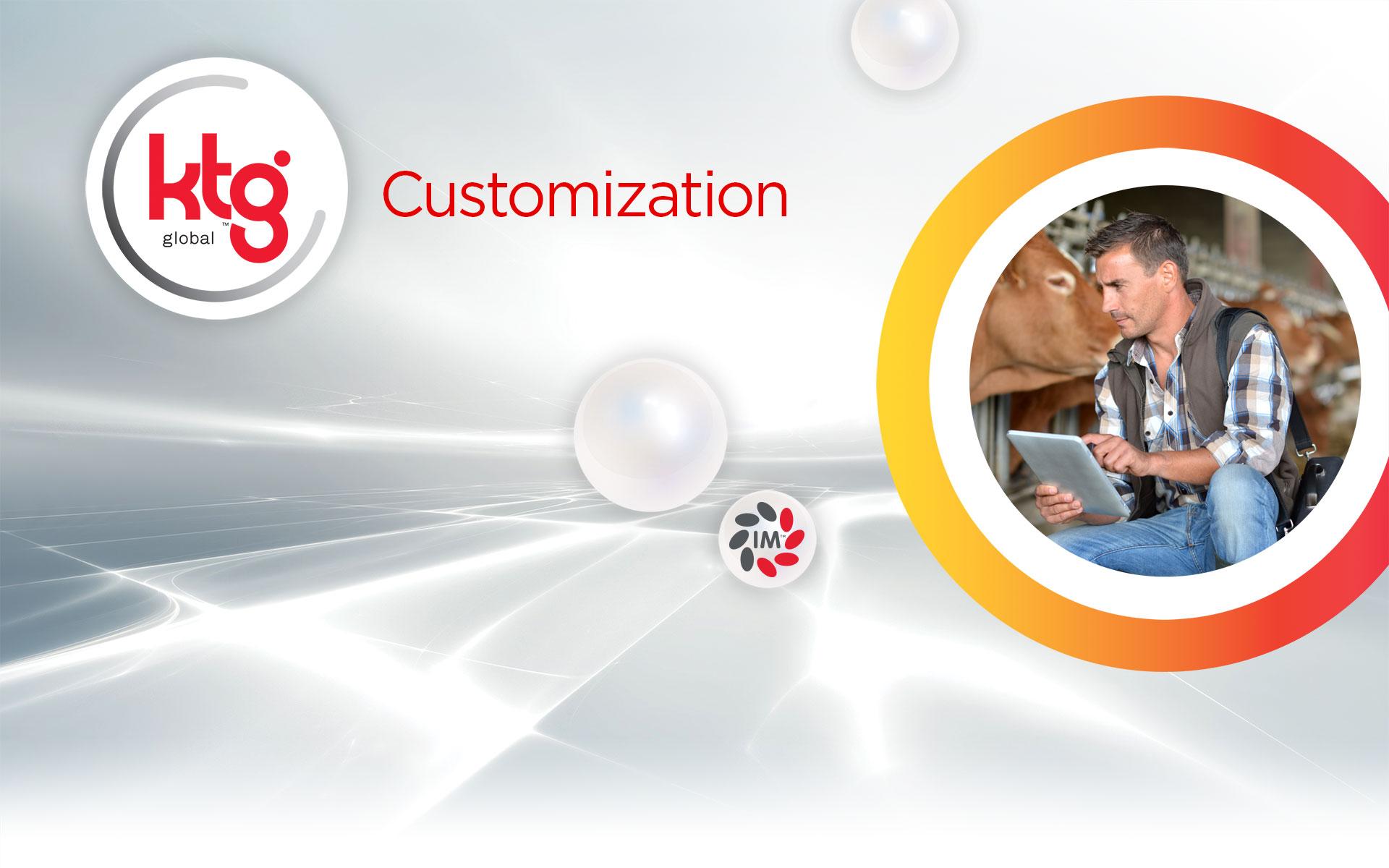 customization header